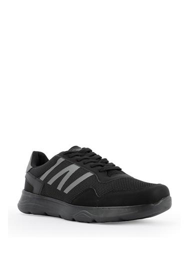 Slazenger Slazenger ICONA I Sneaker Erkek Ayakkabı    Siyah